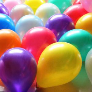 30 cm doorsnee Effen ballonnen ( standaard)