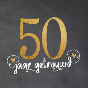 Huwelijk 50 jaar